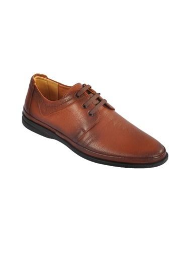 Ayakmod 2031 Hakiki Deri Siyah Erkek Günlük Ayakkabı Taba